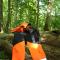 Sikkerhedssættet (skærebukser / hjelm)