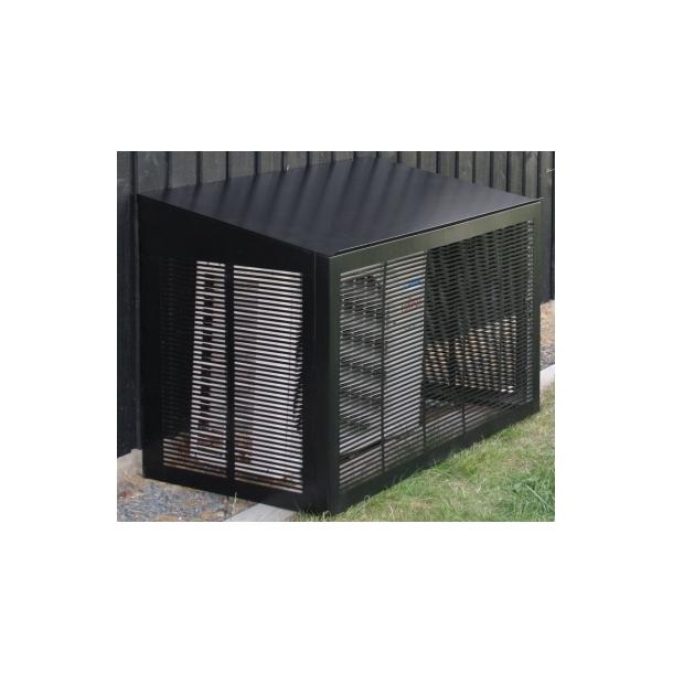 MAGGIE sort VARMEPUMPESKJULER 1100x555x700/600 mm