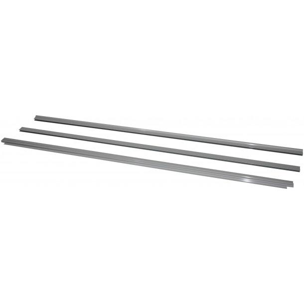 Aluliste til EMMA grå 1200x800 mm