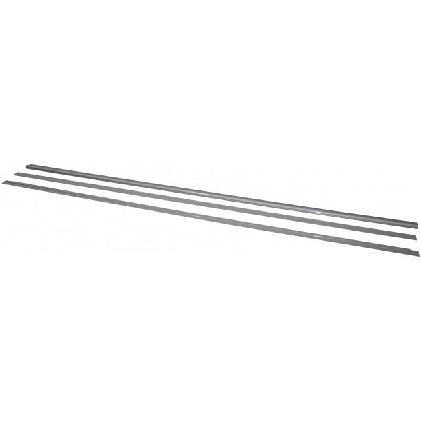 Aluliste til EMMA grå 1400x800 mm