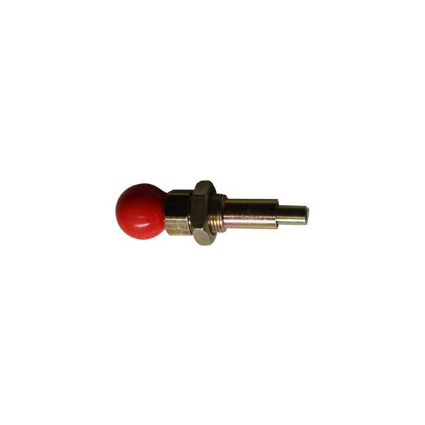 Hjulrammebolt (rød)
