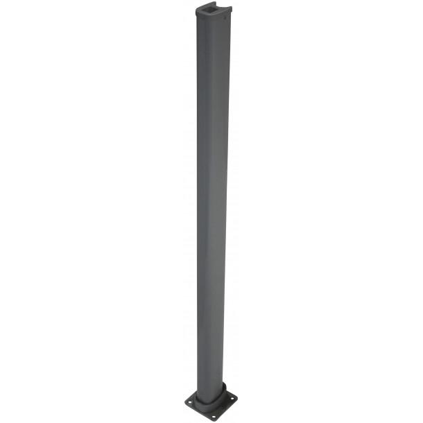 Stop stolpe grå 1200 mm